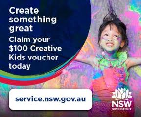 Claim Creative Kids Voucher